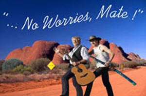 "Australische Nacht ""No worries mate"""