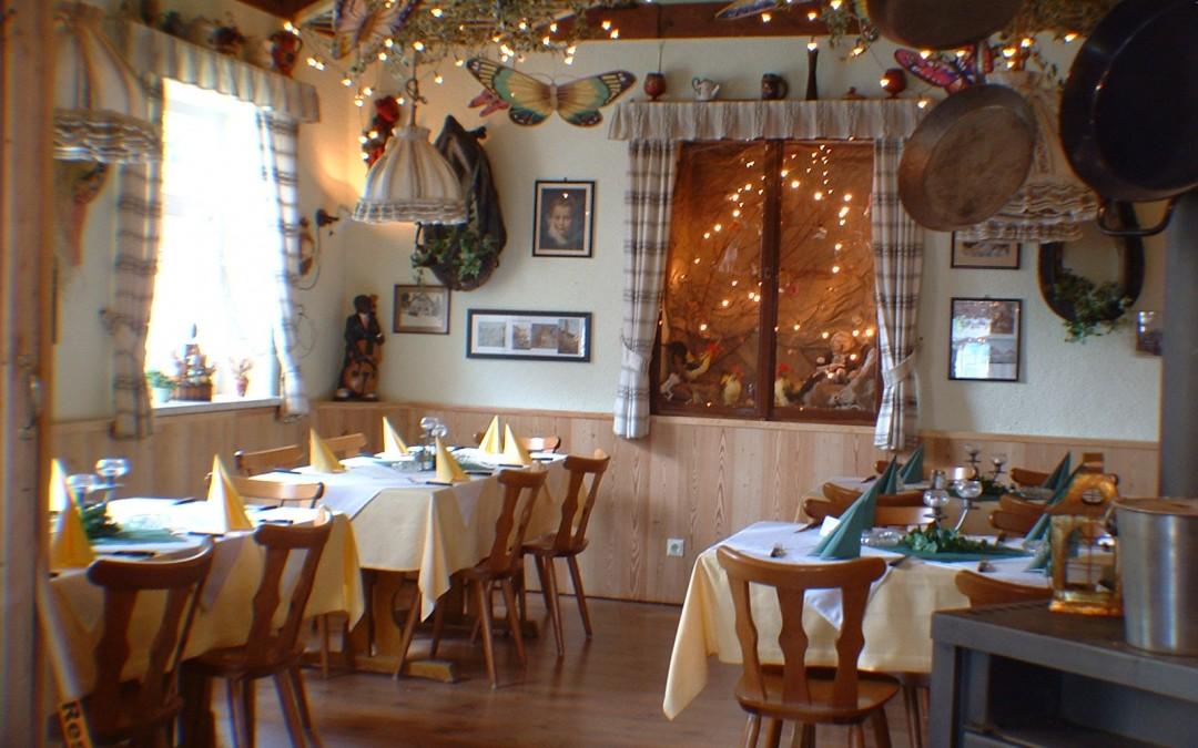Restaurant wieder geöffnet