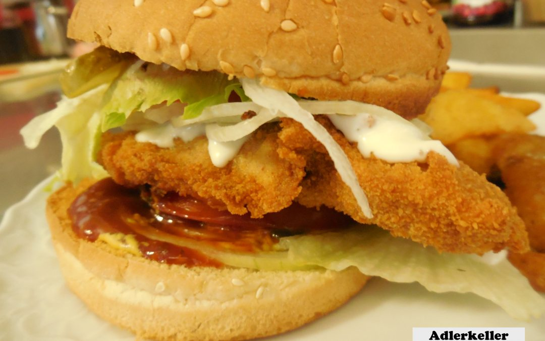 """Die bayrische Antwort  """"Schnitzel-Burger"""""""